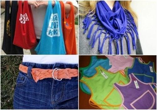 9 maneiras de reciclar camisetas velhas de algodão