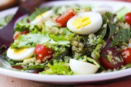 Salada nutritiva e deliciosa