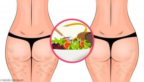 Como eliminar a celulite com uma dieta saudável
