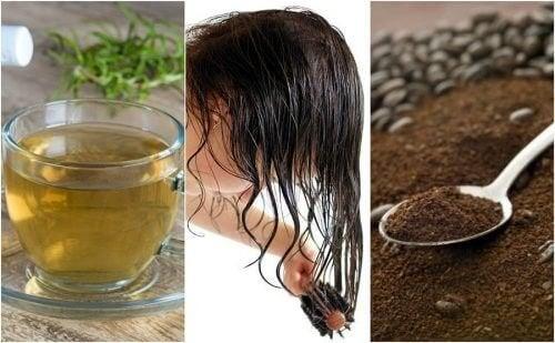 Como combater os cabelos brancos precoces usando 5 remédios naturais