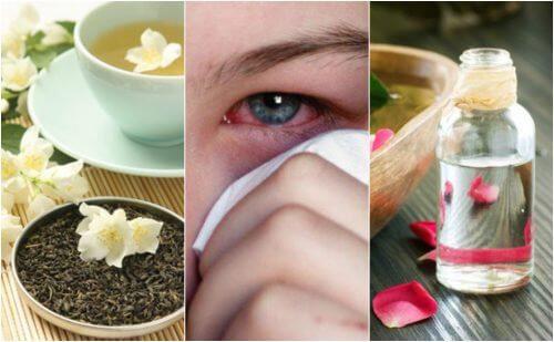 Como tratar as infecções oculares com 5 remédios de origem natural
