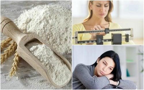 Por que devemos evitar as farinhas refinadas? Descubra 7 efeitos negativos