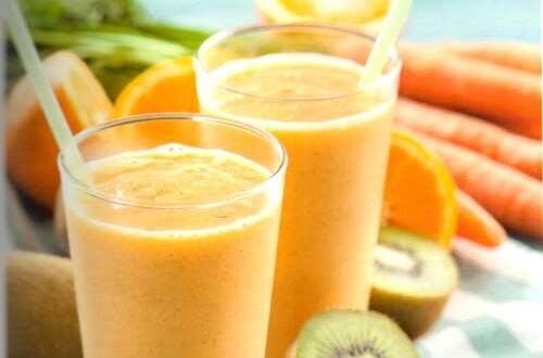 Suco de laranja e quiuí contra a cistite