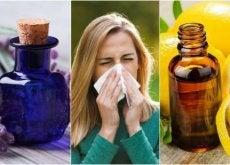 Como controlar sintomas das alergias com estes 6 óleos essenciais