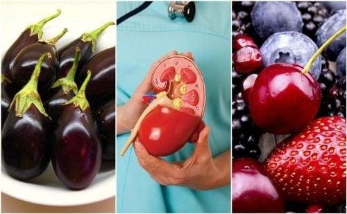 Melhore a saúde dos seus rins consumindo estes 8 alimentos
