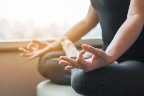 Medite para aceitar-se como você é