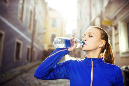 Mantenha uma boa hidratação