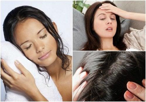 Dormir com o cabelo molhado faz mal? Conheça 8 possíveis consequências