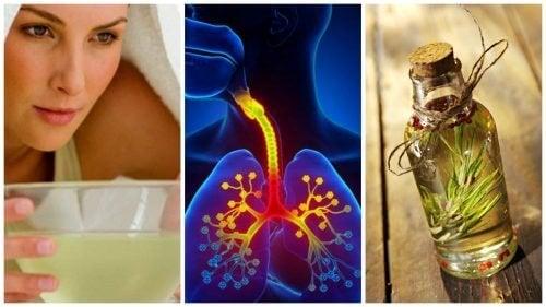 Controle os sintomas da bronquite com esses 6 remédios caseiros