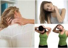 Exercícios para acalmar a dor no pescoço