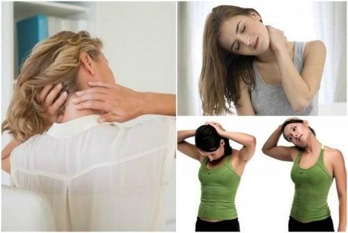 6 exercícios para aliviar as dores no pescoço