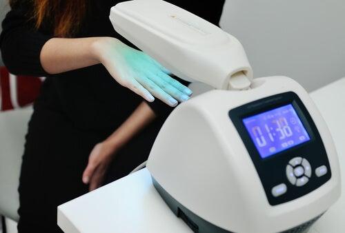 Tratamento para a psoríase com laser