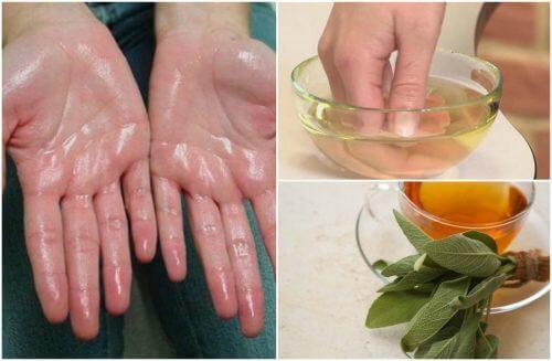 Alivie a hiperidrose com estes 7 remédios naturais