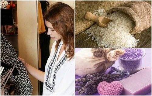 5 truques para evitar os maus odores nos armários