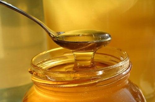 Colher de mel puro