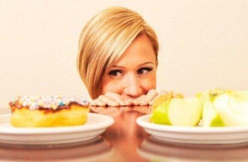 As mudanças no apetite são um dos sintomas do estresse