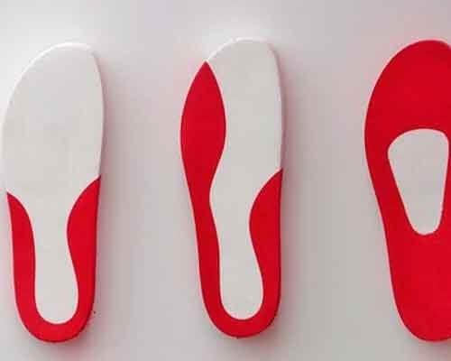 Palmilhas para sapatos planos