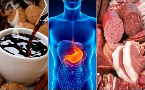 8 alimentos que podem causar refluxo