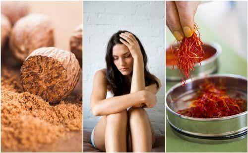 Combater a depressão de forma natural com 6 remédios caseiros