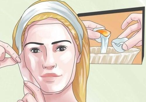Diferentes usos da clara do ovo para a saúde e a beleza