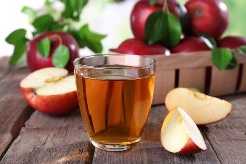 Vinagre de maçã para combater pedras nos rins