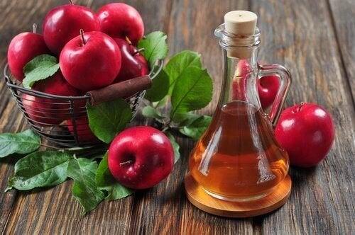 Vinagre de maçã para prevenir as aranhas vasculares