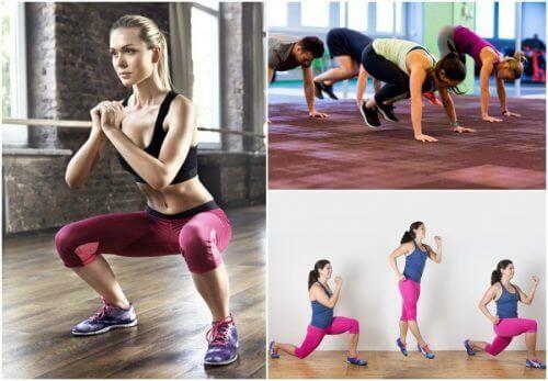 5 exercícios para se manter em forma em qualquer lugar