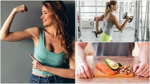 5 hábitos para ganhar massa muscular de forma natural