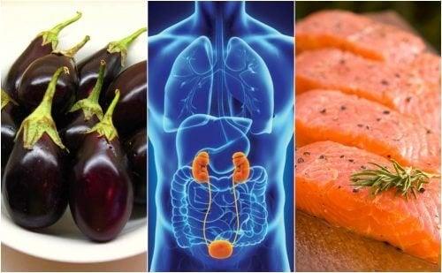 7 alimentos para manter os rins saudáveis