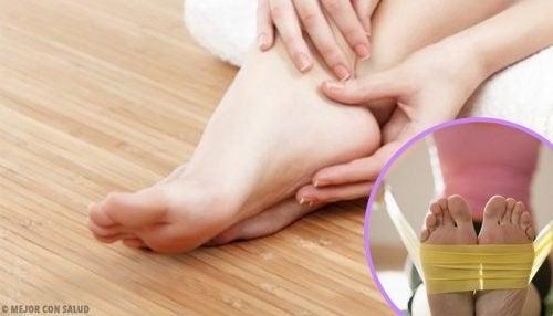 8 exercícios para fortalecer os pés