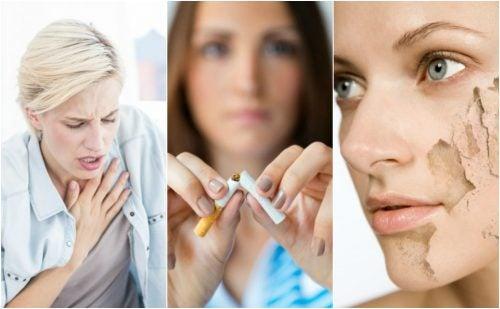 8 motivos para parar de fumar agora mesmo