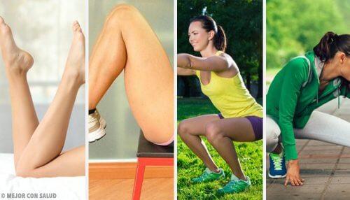 Como trabalhar as pernas no conforto da sua casa?