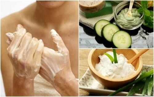 Como amenizar as manchas nas mãos com 5 cremes caseiros