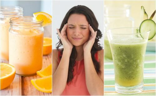 5 deliciosos sucos e vitaminas para combater a enxaqueca