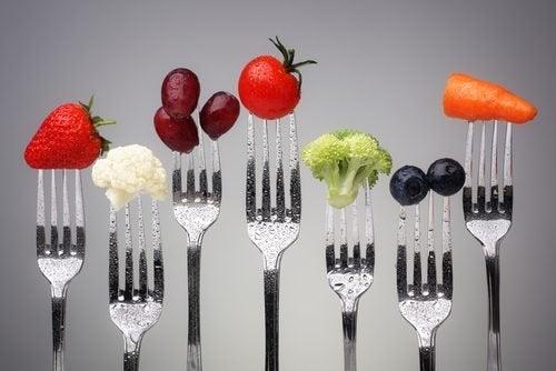 As verduras aportam muitas vitaminas