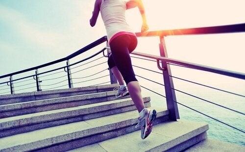 Correr serve para controlar o peso