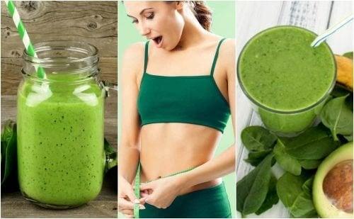 Como preparar 5 batidas de espinafre para perder peso