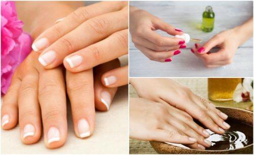5 tratamentos caseiros para as unhas