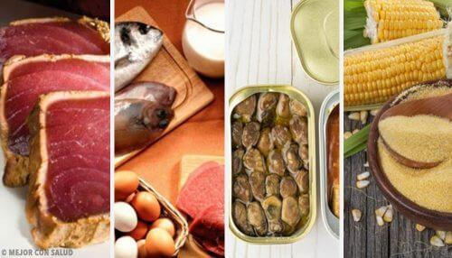 Os 6 alimentos que mais têm toxinas. Você sabia?