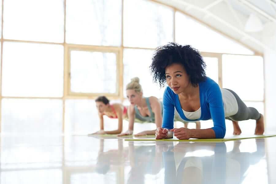 exercitar o abdômen