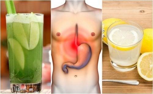 Os 5 melhores remédios caseiros para a acidez do estômago