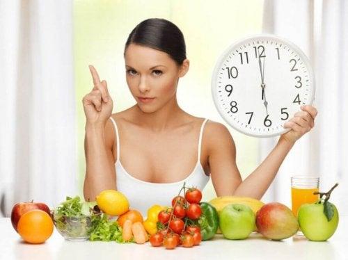 Alimentação saudável para eliminar a gordura abdominal