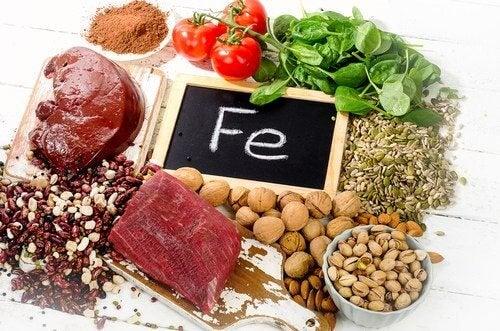 Alimentos para aumentar os níveis de ferro