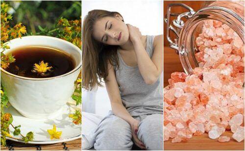 Alivie a dor cervical com 5 remédios de origem natural