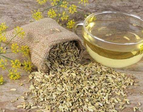 Chá de funcho para combater a gastrite nervosa