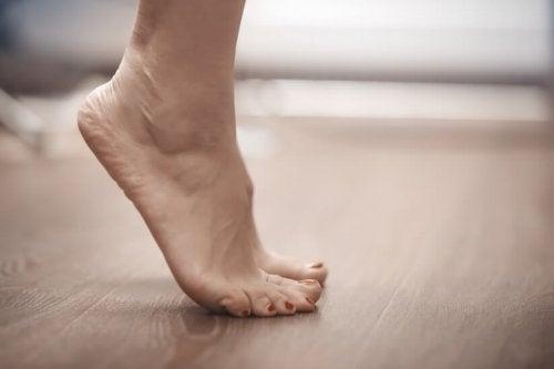Exercício para prevenir a tendinite