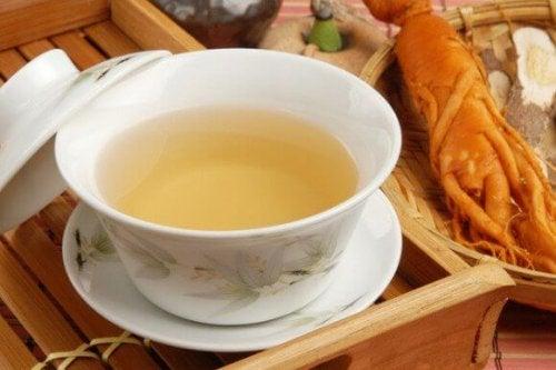 Chá de ginseng para reduzir o açúcar no sangue