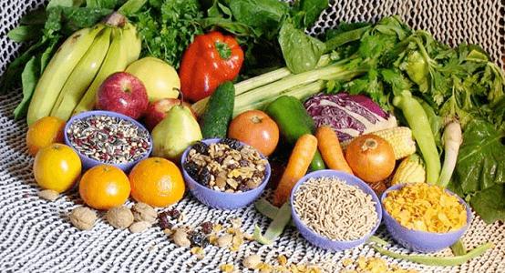 Legumes, vegetais e grãos para uma dieta saudável