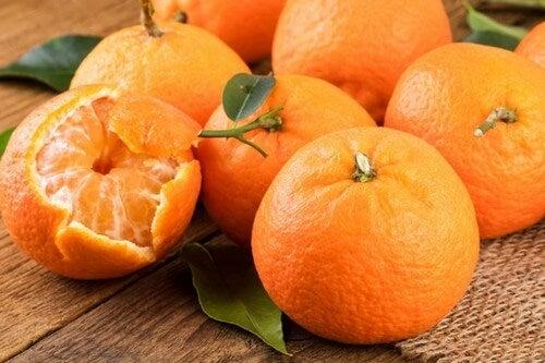 Por ser uma fruta cítrica, a mexerica é uma excelente fonte de vitamina C.