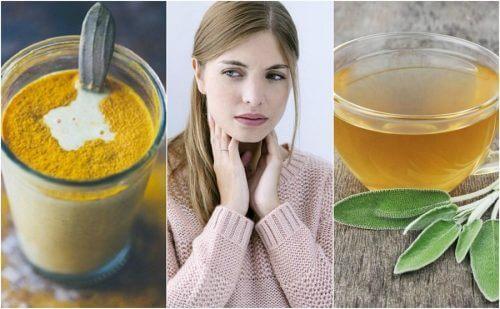 Remédios naturais para aliviar a irritação na garganta